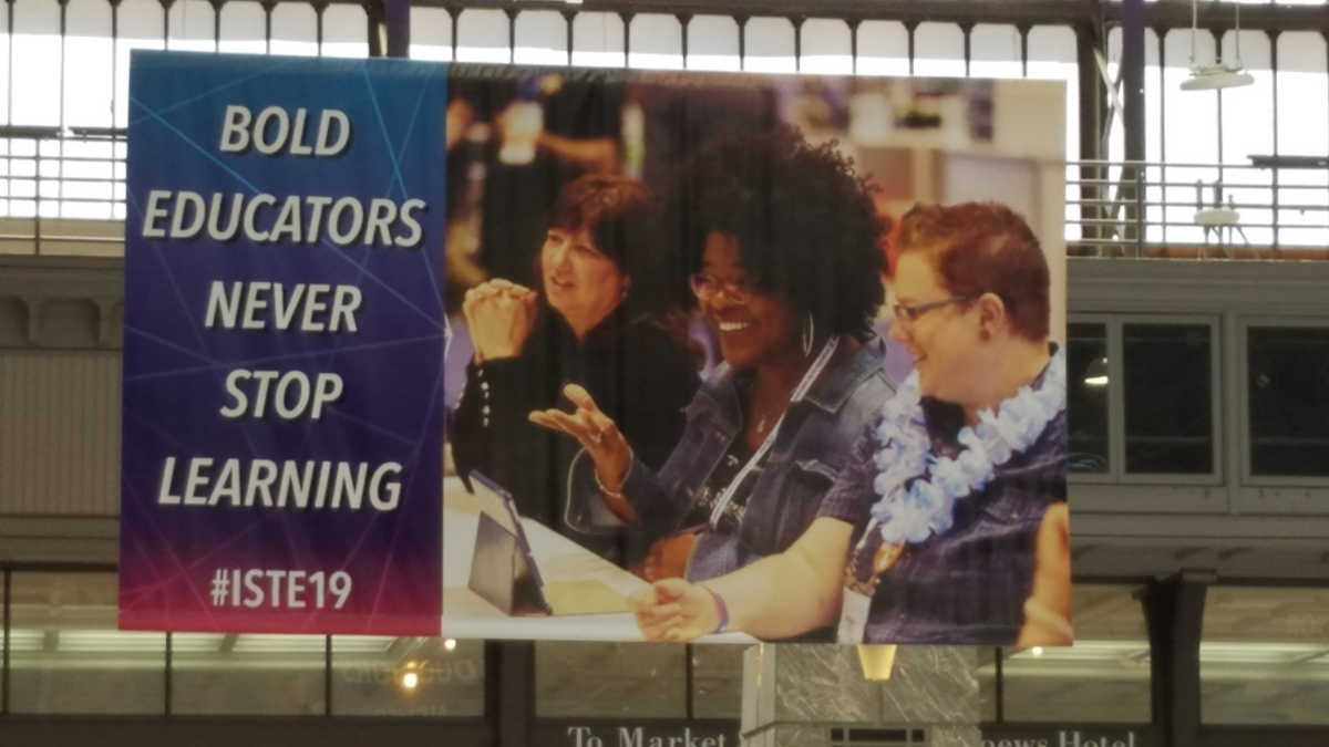Relationships, Connected Learning, & ISTE 2019